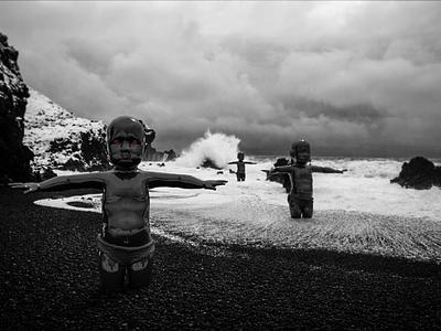 Deep down. Far in / 1 strange digital art retouch virtual modern augmented aliens dimension black aesthetics 3d