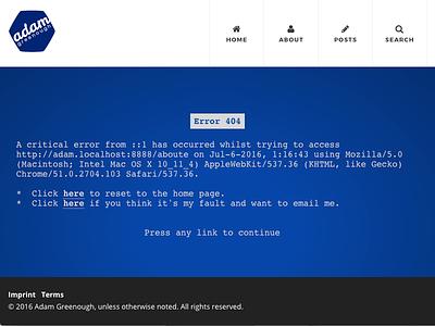 Error 404 bsod
