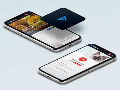 Please see description: New mental health app now live! 😄🧠📈 app icon mental health ux ui logo app icon dashboard tracker vividwell