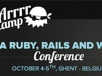 ArrrrCamp 2012 homepage