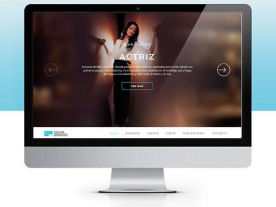 Evelyna Rodríguez Website webdesign ux