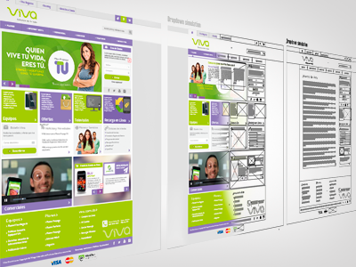 Work in Progress viva.com.do redesign 2014