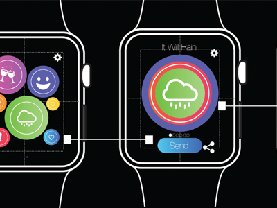 Touch Me Watch App Progress applewatch ux ui