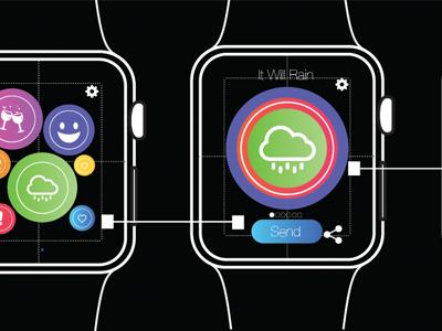 Touch Me Watch App Progress applewatch ux ui