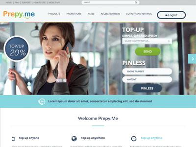 Prepy ME webdesign frontend