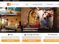 Working UX and Frontend for MasterCard®