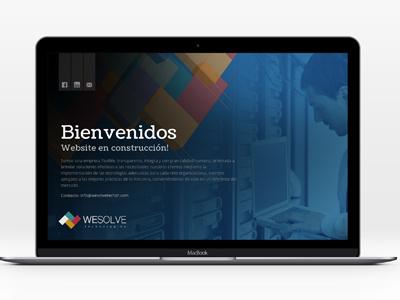 Wesolve Tech ui ux webdesign
