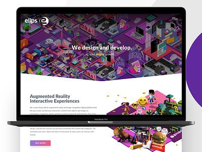 Web Design and Development of elips.io developement webdesign ux-ui