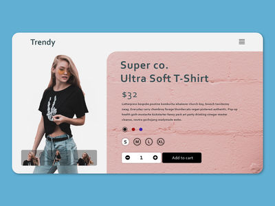 Trendy Shopping animation multiple shop shirt shopping app ecommerce shopping interface card web design web typography minimal ui design daily design adobe xd