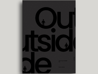 Poster design inspiration instagram visual design vector art user experience typeface typography type social portrait poster minimal illustration design graphic design behance dribbble concept poster design