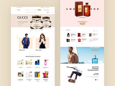 Larambla Online Store gucci luxury gold wordpress design wordpress theme wordpress webdesign website