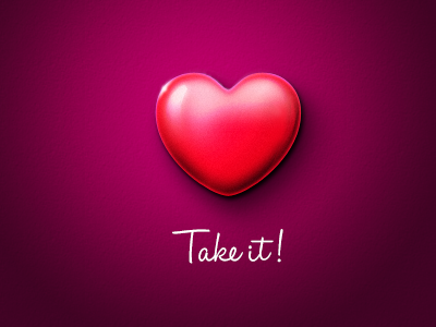 Take it! thanks for invite adobe photoshop practice design icon
