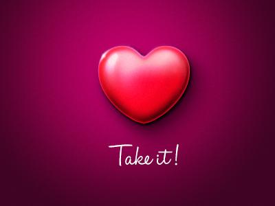 Take it! thanks for invite adobe photoshop practice design icon