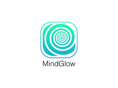MindGlow illusion adobe illustrator graphic design iconography icon design app icon