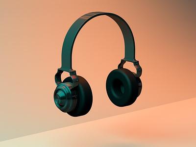 Headphone headphone graphicdesign 3d art 3d cinema4d