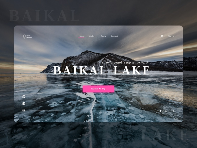 Landing Page (Traveling) traveling travel figma flat website icon ux web ui design