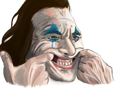 Joker Poster Painting digital painting poster art procreate character concept illustration graphic design