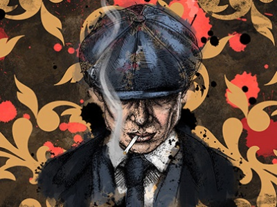 BBC Peaky Blinders Finalist procreate poster film tv concept product design character graphic design illustration graphic design