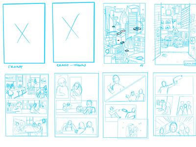 Storyboard visualcommunication comic narrative character graphic design storyboard artist procreate storyboarding concept illustration graphic design