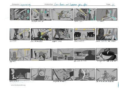 Storyboarding Visual Course by Sergio Paez storyboarding comic visualcommunication procreate character narrative graphic design concept illustration graphic design