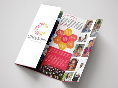 Finalized Brochure Design for Chrysalis