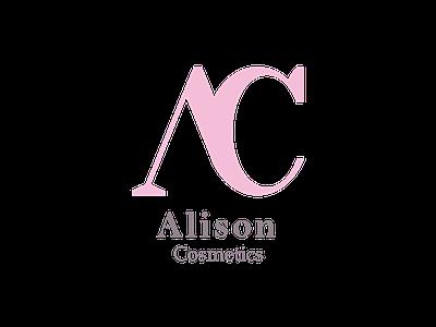 Logo Challenge - Alison Cosmetics presentation presentation design branding adobeillustrator minimalist minimalist logo logocore brand brand design brand identity graphic cosmetic logo logodesign logo 30daylogochallenge 30daychallenge
