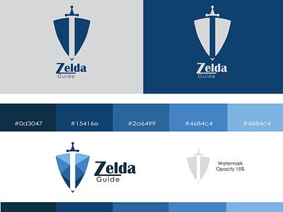 Zelda Guide - Logo Design design 30daylogochallenge logocore zeldaguide photoshop illustrator minimalist vector illustration 30daychallenge logodesign logo