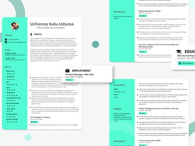 MY CV branding bright colors personal simple cv simple design resume design cv design my cv personal brand personal branding