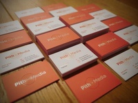 Business cards Pith Media