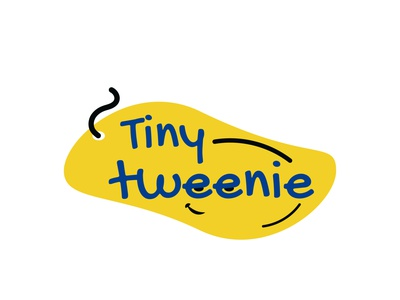 Tiny Tweenie kids apparel adobe illustrator logo icon design