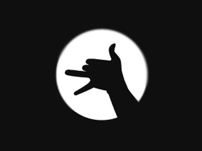 3FNGR Film Productions 3 finger shadow acting film reel hand light
