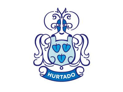 Hurtado Coat Of Arms crest coat of arms hurtado escudo hearts