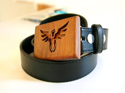 Ha! cinto logo rudy belt