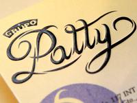 Patty treatment