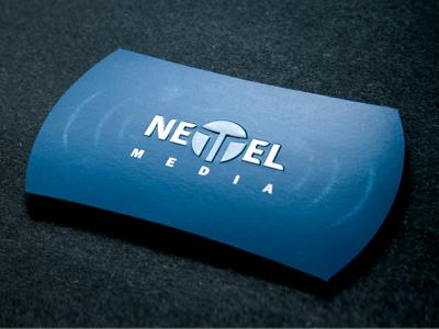 NETTEL Cards business card embossing pantone die rudy