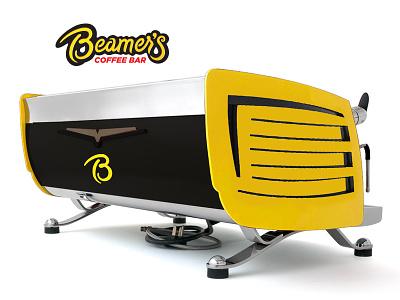 Beamers Brand Elements2 victoria ardulino eagle beamer black yellow machine coffee