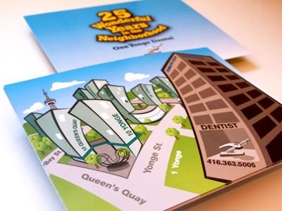 Neighbourhood Card dentist rudy buildings toronto anniversary