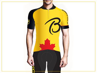 Beamers Apparel Merch 2019 yellow coffeeshop coffee cycling jersey socks hat