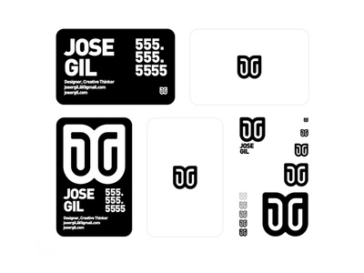 JG Brand Identity  |  Business Cards