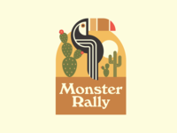 Monster Rally Badge