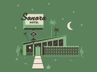 Sonora Hotel Illustration