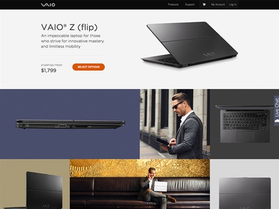 VAIO Flip Product Page 2/2