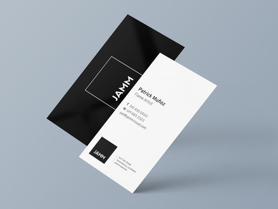 JAMM Visual Business Cards