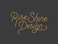 Rise Shine Design Custom Type