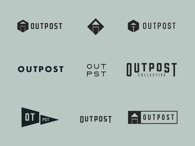 Outpost Collective Branding Exploration