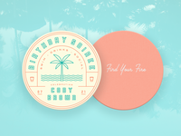 Summer Birthday Soiree Coaster