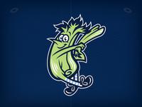 "Wilmington Blue Rocks ""Mr. Celery"""