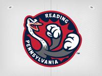 Reading Fightins Sleeve Emblem