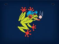 Everett AquaSox Frog