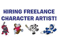 Hiring Freelance Character Artist